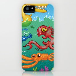 fun in the sun iPhone Case