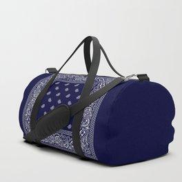 Bandana - Navy Blue - Southwestern Duffle Bag