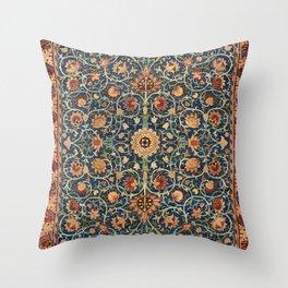 William Morris Floral Carpet Print Throw Pillow