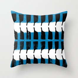 Rowing Boats - Race Throw Pillow
