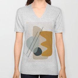 Abstract Shapes No.27 Unisex V-Neck