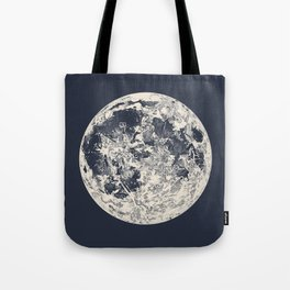 Telescopic Appearance of the Moon Tote Bag