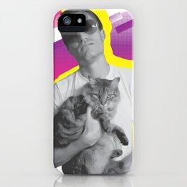 Dude+Cat iPhone Case