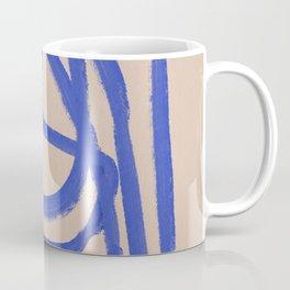 A blue eternal labyrinth Coffee Mug