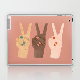 Peace Hands Laptop & iPad Skin