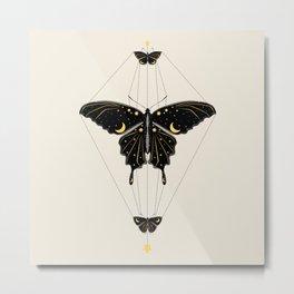 Butterfly Universe Metal Print