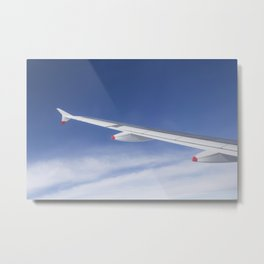 Flying Close To Heaven Metal Print