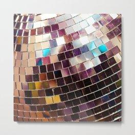 Disco Ball Metal Print