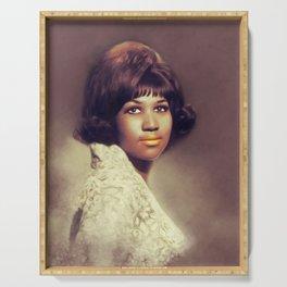 Aretha Franklin, Music Legend Serving Tray