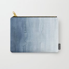 Indigo Abstract Painting | No. 4 Carry-All Pouch