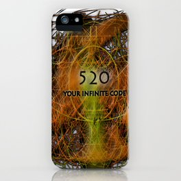 Numbers and Codes iPhone Case