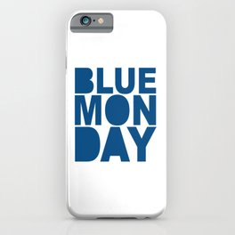 Boring Monday iPhone Case