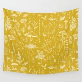 Woodland Walk / Mustard Wall Tapestry