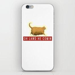 Chonk Cat Meme iPhone Skin