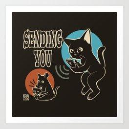 Sending you Art Print