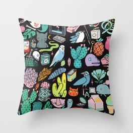 Various Objects III Throw Pillow