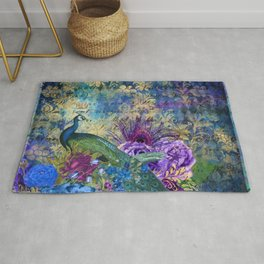 Feather Peacock 20 Rug
