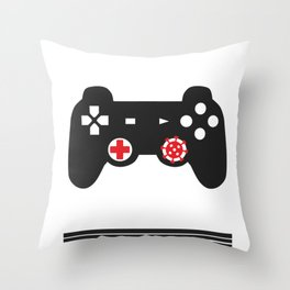 Covid19 Quarantine Gamer I Have Prepared For This My Entire Life Social Distancing Throw Pillow