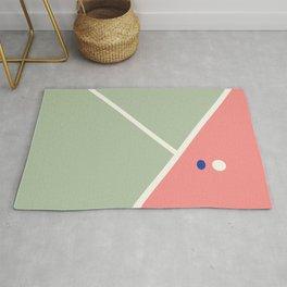 Tennis sport wall art Rug