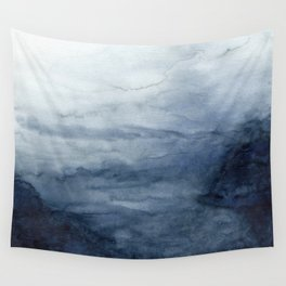Indigo Abstract Painting | No.2 Wall Tapestry