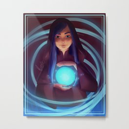 The Mage Metal Print