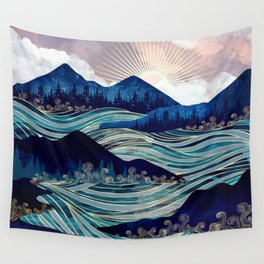 Ocean Sunrise Wall Tapestry