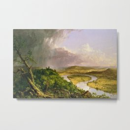 The Oxbow (Connecticut River near Northampton) by Thomas Cole Metal Print