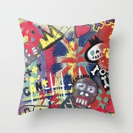 Antagonist Throw Pillow
