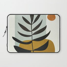 Soft Abstract Large Leaf Laptop Sleeve