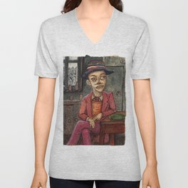 20th Century Dickensian Dodger Unisex V-Neck