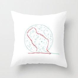 Suturing Throw Pillow
