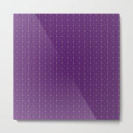 dot and line ver.violet Metal Print