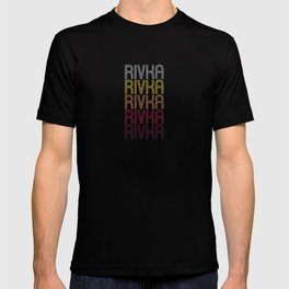 Rivka Name Gift Personalized First Name T-shirt