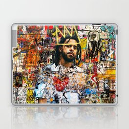 J Cole Portrait Artwork Laptop & iPad Skin