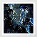 Metallic Ocean III by spacefrogdesigns