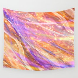 Metaphysical Energy Vibe Ethereal Abstract Wall Tapestry