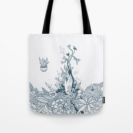 The Witch's Hand Tote Bag