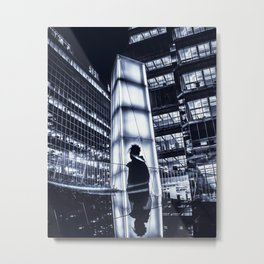 two sides of the same story Metal Print