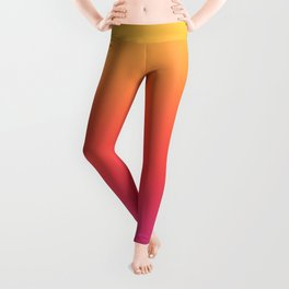 Ombre Colorful Summer Gradient Pattern Leggings