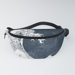 The Great Wave of a Star System Fanny Pack
