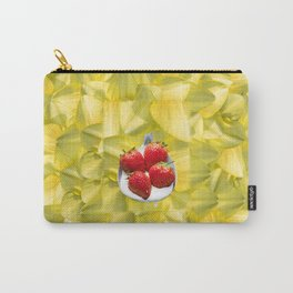 Fun with Yellow Carry-All Pouch