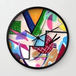 Dizzy Staircase Wall Clock