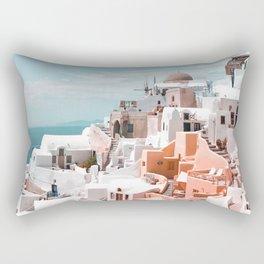 Santorini, Oia Rectangular Pillow
