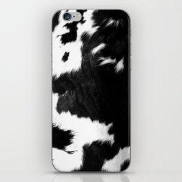 Rustic Cowhide iPhone Skin