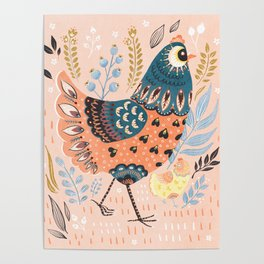 Mother Hen Poster