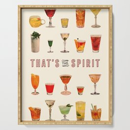 That's the Spirit Serving Tray