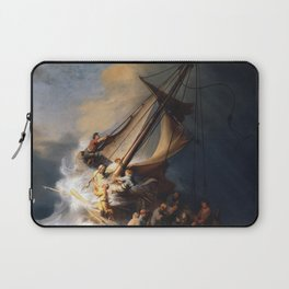 The Storm on the Sea of Galilee, Rembrandt Laptop Sleeve