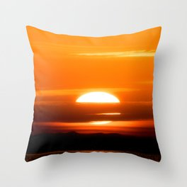 Sharm Sunrise 8 Throw Pillow