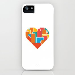 Livin' for the City iPhone Case