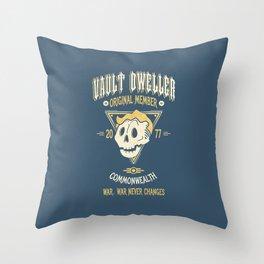 Vault Dweller Throw Pillow